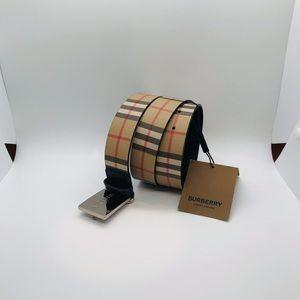 Burberry men belt